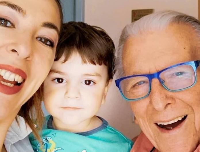 Κώστας Βουτσάς: Συγκινεί η φωτογραφία του γιου του στην αγκαλιά της Μάρθας Καραγιάννη