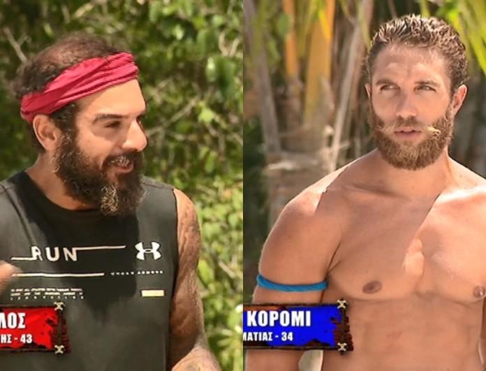 Survivor 4: Τα έβαλε πάλι με τον Τριαντάφυλλο ο Κόρο - «Δε με σεβάστηκες»