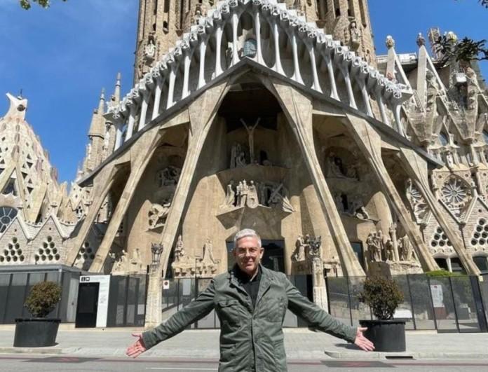 Εικόνες: Ο Τάσος Δούσης συνεχίζει το ταξίδι του στη Βαρκελώνη