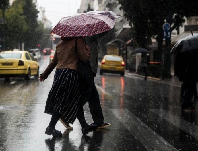 Καιρός: Βροχές, καταιγίδες και χιόνια θα σημειωθούν και σήμερα 1/4