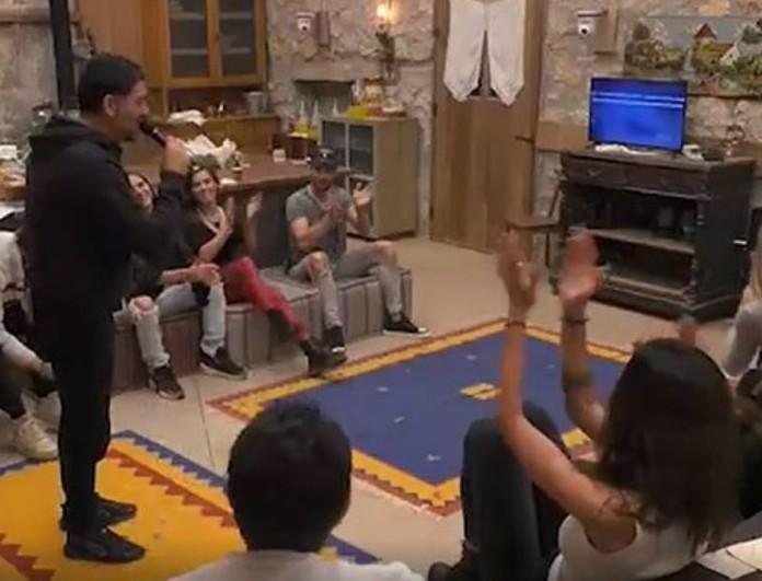 Φάρμα: Ξεσάλωσαν οι παίκτες με το καραόκε που τους έδωσε ο Τανιμανίδης