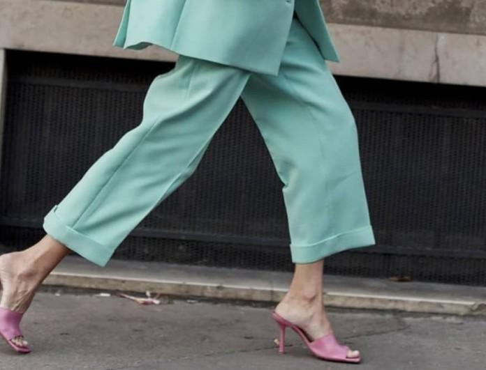 ανοιξιάτικα παπούτσια παλ χρώματα