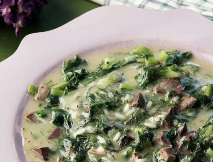 Παραδοσιακή παριανή μαγειρίτσα από την Αργυρώ Μπαρμπαρίγου