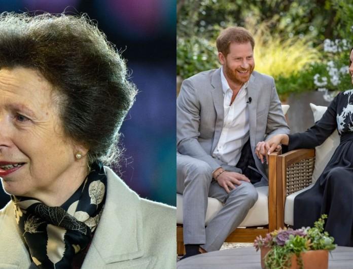 Η Πριγκίπισσα Άννα έκανε το σχόλιο για τον γιο της Μέγκαν Μαρκλ και του Χάρι