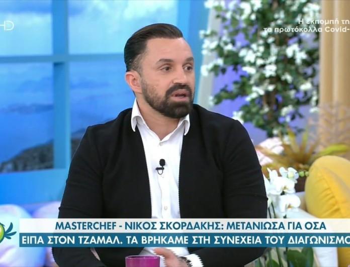 MasterChef 5 - Σκορδάκης: «Δεν πίστευα ότι θα αποχωρήσω, ακόμα δεν το έχω συνειδητοποιήσει»