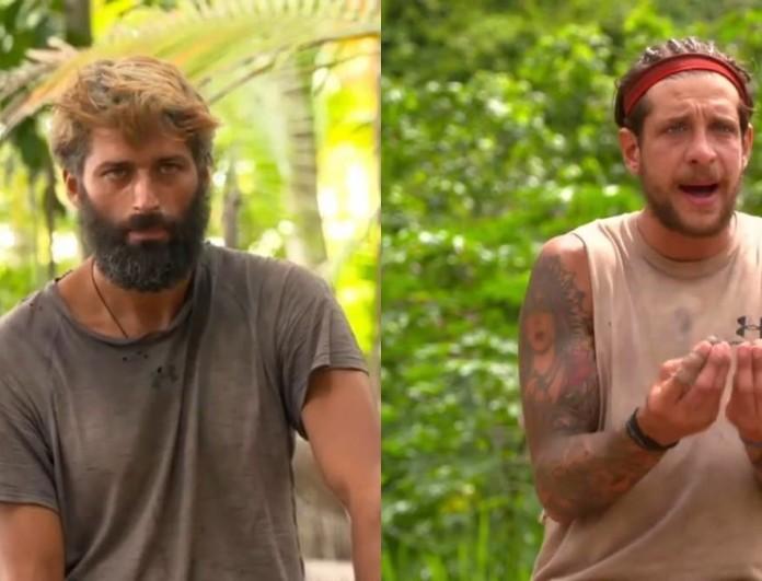 Survivor 4: Τι συνέβη με Ηλία και Αλέξη όταν γύρισαν στην παραλία μετά τον χθεσινό καυγά