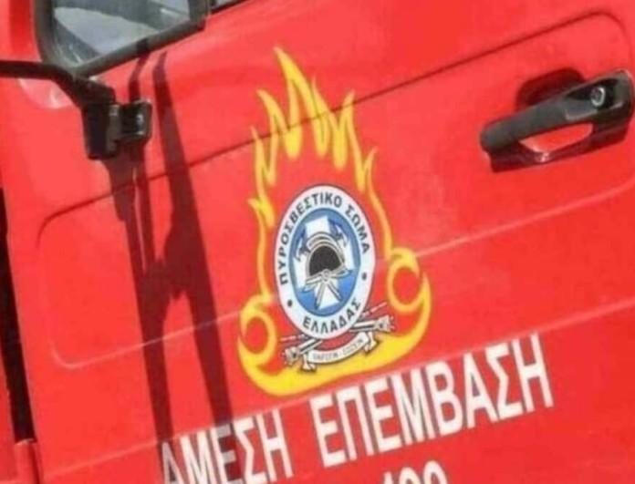 Φωτιά σε διαμέρισμα στο Βύρωνα - Ανασύρθηκε γυναίκα χωρίς τις αισθήσεις της