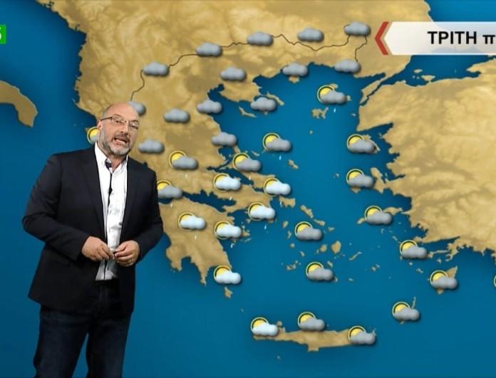 Σάκης Αρναούτογλου: Τα πάνω κάτω με τον καιρό - Από τα χιόνια στη ζέστη