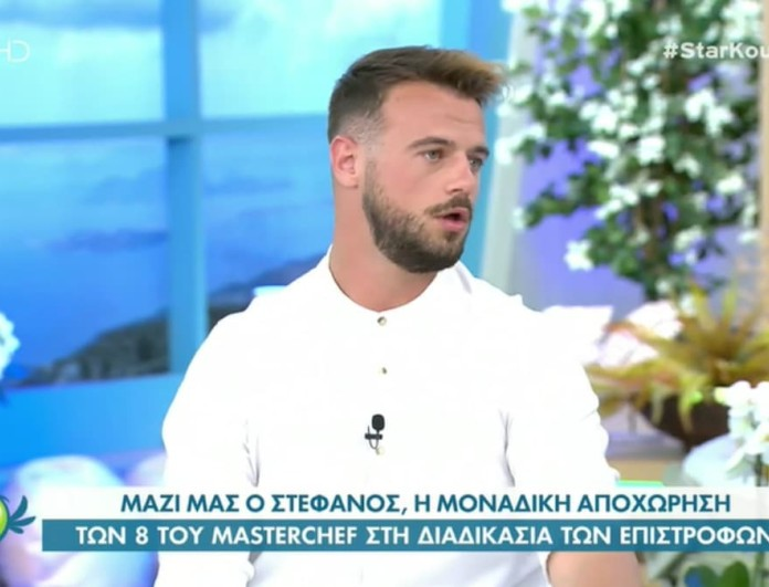 Masterchef 5 - Στέφανος Χίλας: «Δεν έχω καμία επαφή με την πρώην κοπέλα μου και ούτε θα ήθελα»