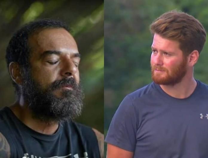 Survivor 4: Τρομερός τσακωμός στην παραλία μεταξύ Τζέιμς και Ντάφυ