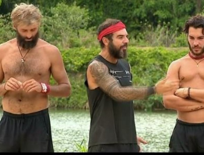 Survivor 4: Ένταση ανάμεσα σε Κώστα, Αλέξη και Ντάφυ λίγο μετά τον αγώνα!