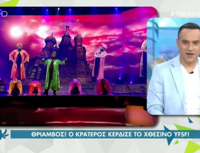 Κρατερός Κατσούλης: Όλα όσα δήλωσε για την χθεσινή του νίκη στο YFSF