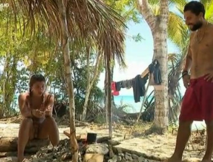 Survivor 4: Ερωτικό καυγαδάκι ανάμεσα σε Σάκη - Μαριαλένα! Τα μούτρα, οι φωνές, τα κλάματα και οι ζήλιες