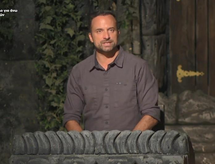 Survivor 4: Ο Γιώργος Λιανός ανακοίνωσε την αποχώρηση του Νίκου Μπάρτζη