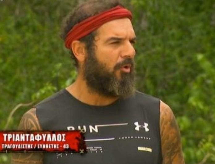 Survivor 4: Ο Τριαντάφυλλος εξήγησε τον πραγματικό λόγο που δεν αγωνίζεται!