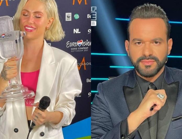 Eurovision 2021: Στο πλευρό της Έλενας Τσαγκρινού στο Ρότερνταμ ο Γιώργος Αρσενάκος