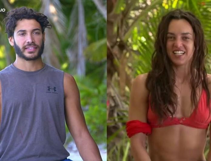 Survivor 4: Το βίντεο Καρολίνας και Ασημακόπουλου που κυκλοφορεί στο διαδίκτυο