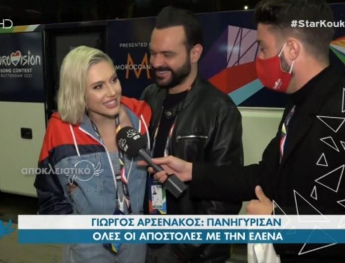 Έλενα Τσαγκρινού: Οι πρώτες δηλώσεις μετά την πρόκριση στον τελικό της Eurovision