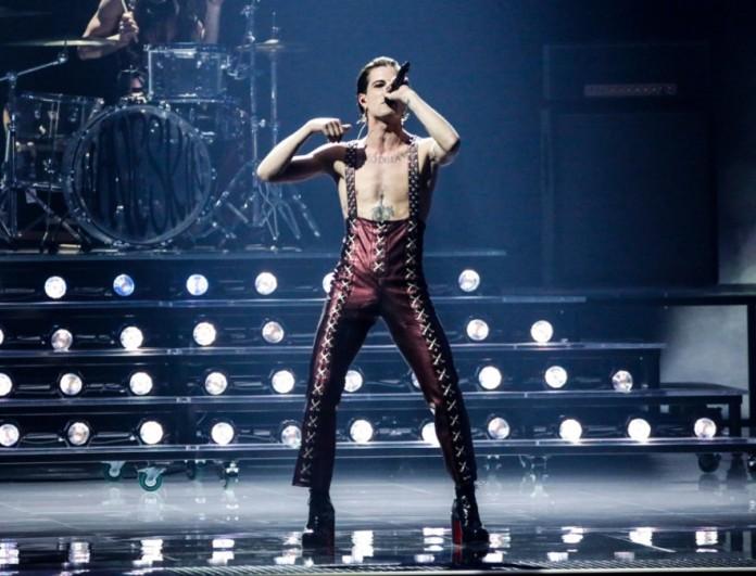Eurovision 2021: Ο Damiano David τραγούδησε το El Diablo της Έλενας Τσαγκρινού