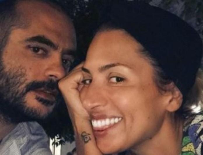 Μαρία Ηλιάκη: Ποζάρει με φουσκώμενη κοιλίτσα αγκαλιά με τον αγαπημένο της