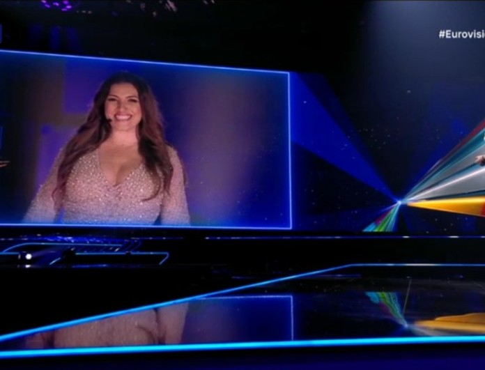 Eurovision 2021: Η εμφάνιση της Έλενας Παπαρίζου στον Β΄Ημιτελικό