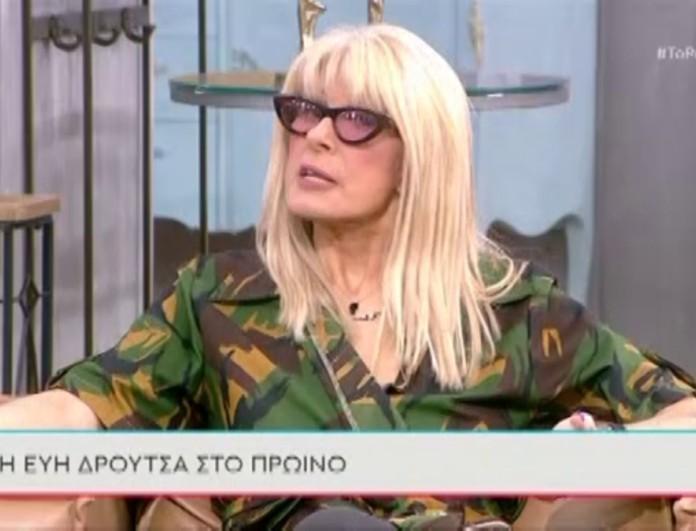 Εύη Δρούτσα: «Nα βάλουμε στη Eurovision Ελληνίδες που ζουν στην Ελλάδα, όχι που πάνε κι έρχονται»