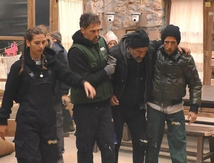 Φάρμα: Ο Μιχάλης Ιατρόπουλος έπαθε λουμπάγκο