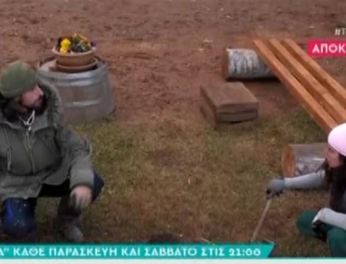 Η Φάρμα - spoiler: Άγριος τσακωμός Κυριακής με Ντούπη - «Φύγε! Φύγε! Που θα κάνεις και θεωρία»
