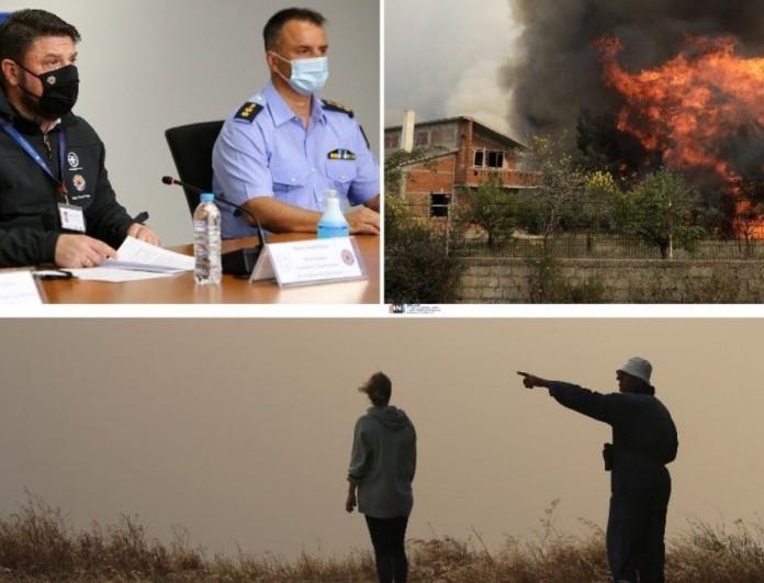 Έκτακτη ενημέρωση από το Χαρδαλιά σήμερα για τη φωτιά στον Σχίνο Κορινθίας