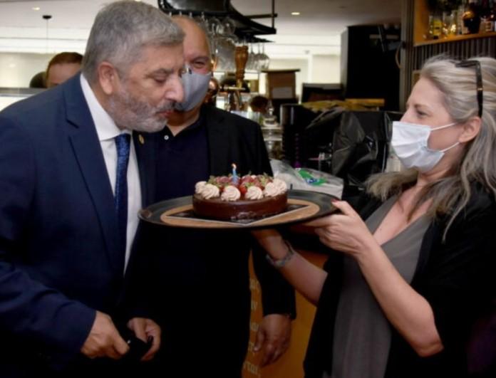 Γιώργος Πατούλης: Τα πρώτα του γενέθλια χωρίς την σύζυγο του, Μαρίνα