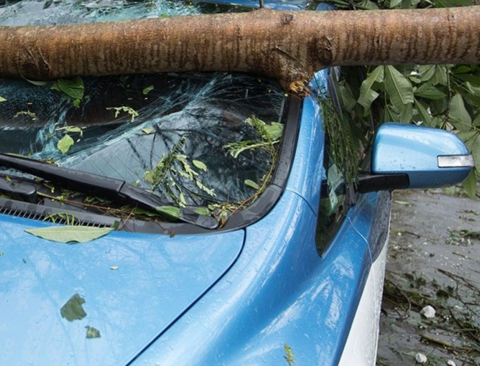 Μεγάλη κακοκαιρία στη Λέσβο - Έκλεισαν τα σχολεία
