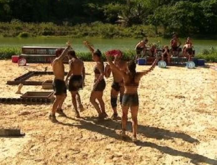 Survivor 4: Νικήτρια η Κόκκινη ομάδα στον δεύτερο αγώνα ασυλίας