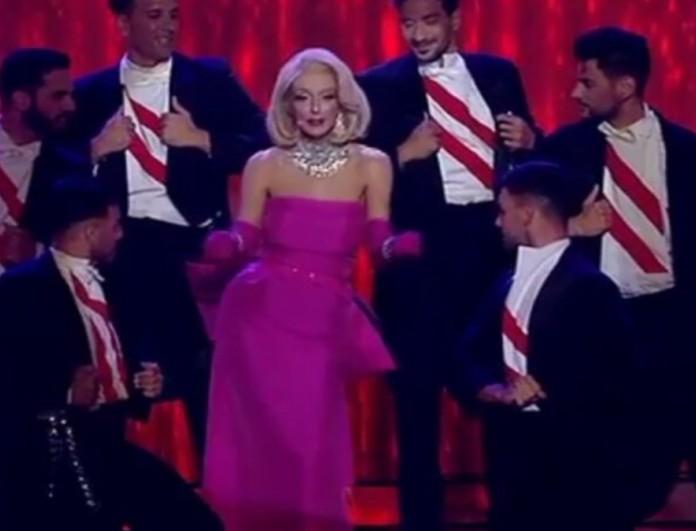 YFSF: Έκλεψε την παράσταση η Μπέτυ Μαγγίρα ως Marilyn Monroe