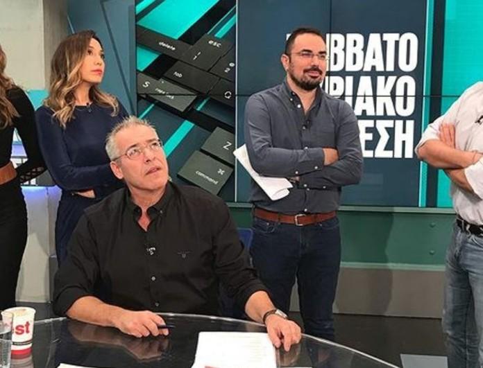 ALPHA: Εκτός πλατό ο Νίκος Μάνεσης