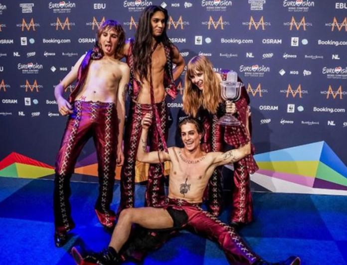 Maneskin: Η απαγόρευση που τους κόστισε μετά την νίκη τους στην Eurovision 2021