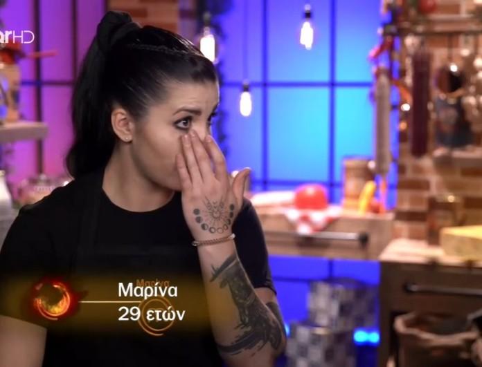 MasterChef 5: Ξέσπασε σε κλάματα η Μαρίνα με τη βαθμολογία των κριτών