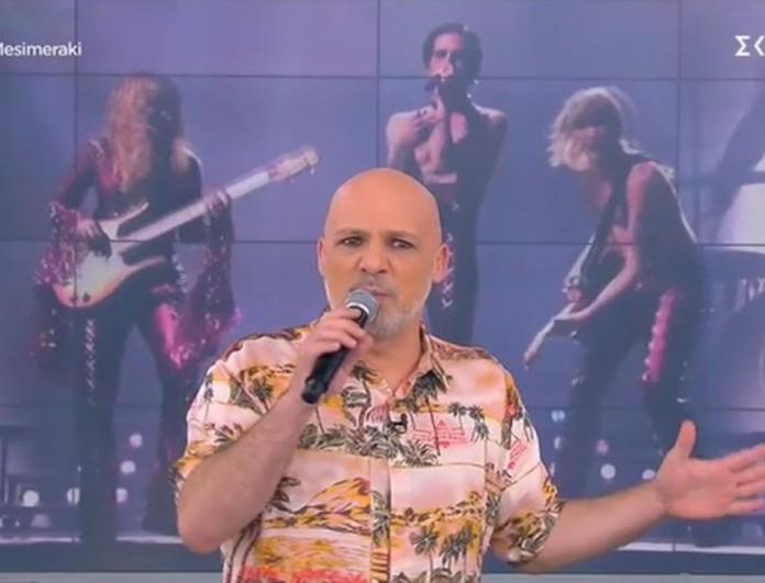 Eurovision 2021: Το όλο νόημα σχόλιο του Νίκου Μουτσινά για τον Damiano David