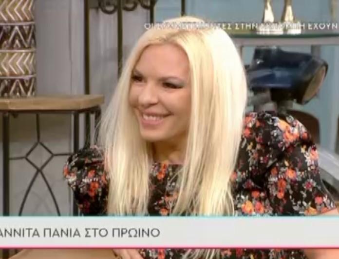 Αννίτα Πάνια σε Σκορδά: «Δεν θα ερχόμουν στην εκπομπή αν με έπαιρνες εσύ ή ο Γιώργος Λιάγκας»