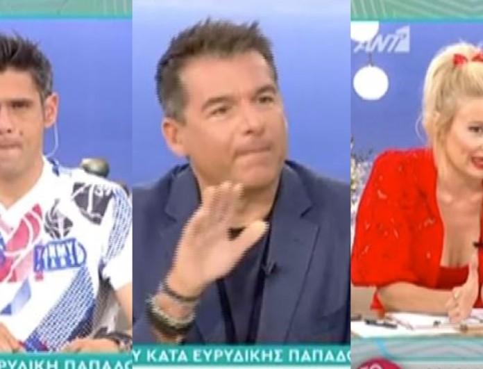Ένταση στο Πρωινό ανάμεσα σε Σκορδά και Ουγγαρέζο - «Πετάς σπόντες, εγώ μιλάω ευθέως! Σου λέω να...»