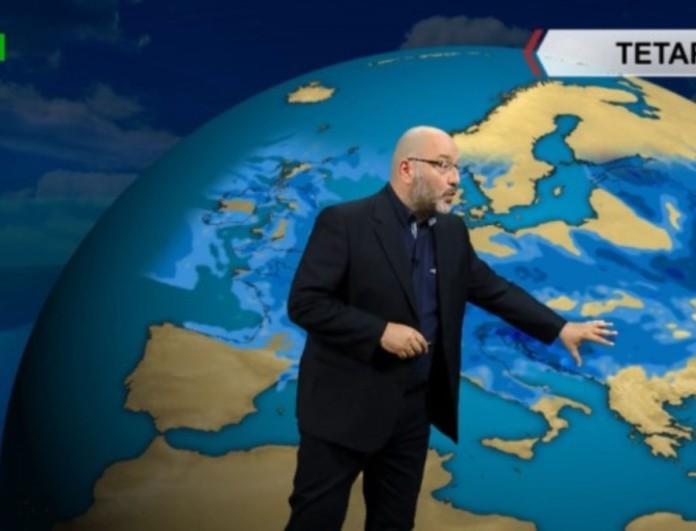 Σάκης Αρναούτογλου: Νέα άνοδος της θερμοκρασίας το Σαββατοκύριακο