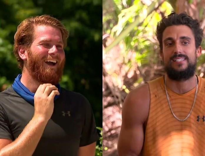 Survivor 4: Διαπληκτισμός μεταξύ Σάκη και Τζέιμς στην παραλία