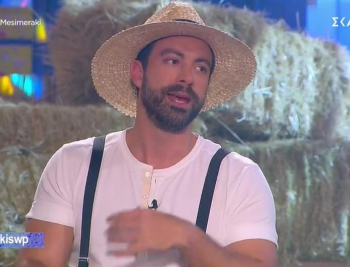Σάκης Τανιμανίδης: «Ο Γιώργος Λιανός είναι πολύ καλός παρουσιαστής»