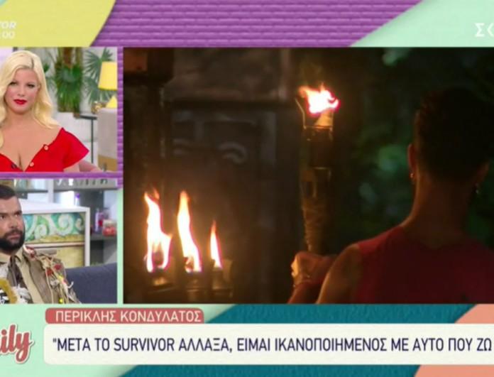 Survivor 4: Μετανιωμένος ο Κονδυλάτος - «Δεν δικαιούμαι να κρίνω κανέναν από τη στιγμή που τον έχω βρίσει κι εγώ»