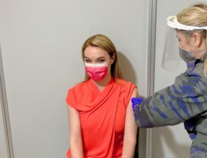 Τατιάνα Στεφανίδου: Έκανε το εμβόλιο της Moderna - Όλα όσα είπε μετά από τρεις μέρες στην εκπομπή της