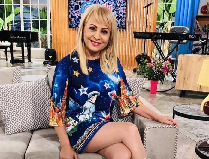 Έκανε το εμβόλιο κατά του κορωνοϊού η Τέτα Καμπουρέλη