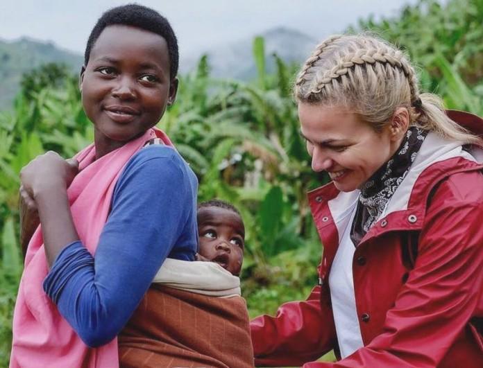 Χριστίνα Κοντοβά: Πάσχα στην Ουγκάντα με την κόρη της, Έιντα