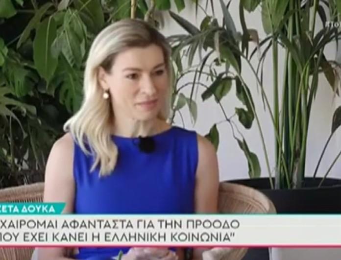 Ζέτα Δούκα: «Μετά από όλα όσα κατήγγειλα, ο Γιώργος Κιμούλης...»