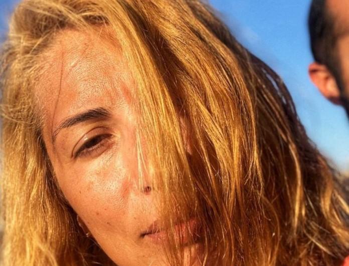 Μαρία Ηλιάκη: H τρυφερή φωτογραφία που τράβηξε τον Μανουσάκη σε βόλτα με την κόρη τους