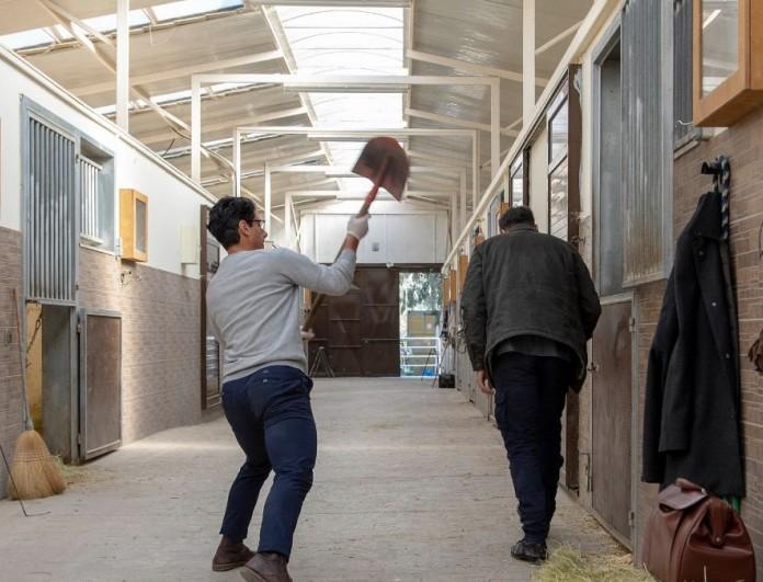 Αγγελική: «Στα γυρίσματα της σειράς με πάτησε άλογο»