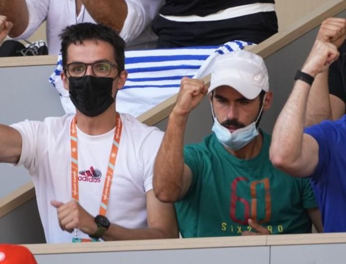 Μαρία Σάκκαρη: Δίπλα της στον ημιτελικό του Roland Garros ο Κωνσταντίνος Μητσοτάκης